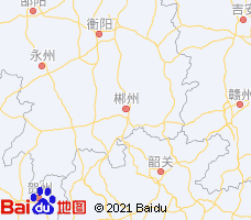 郴州电子地图