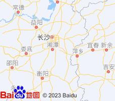 株洲电子地图