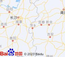 萍乡电子地图