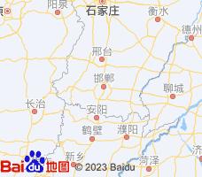 邯郸电子地图