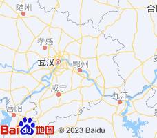 黄冈电子地图