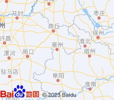 亳州电子地图