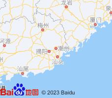 潮州电子地图