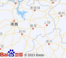鹰潭电子地图