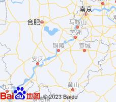 铜陵电子地图