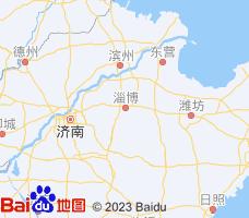 淄博电子地图