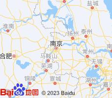 南京电子地图