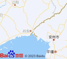丹东电子地图