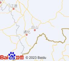 白山电子地图
