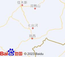 七台河电子地图