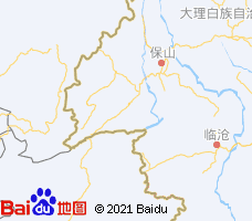 德宏电子地图