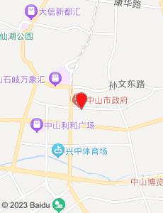 中山旅游地图