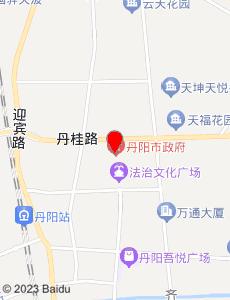 丹阳旅游地图