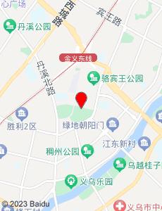 义乌旅游地图