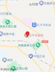 乐平旅游地图