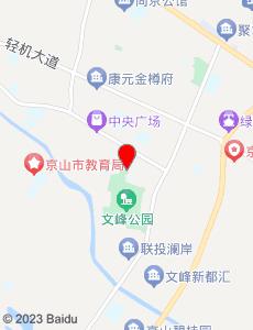 京山旅游地图