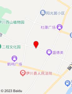 伊川旅游地图
