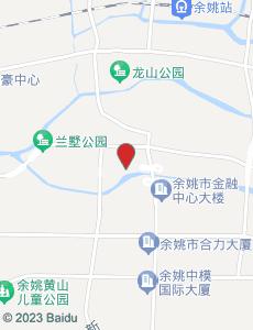 余姚旅游地图