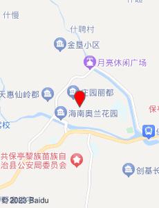 保亭旅游地图