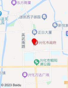 兴化旅游地图