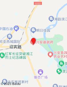 兴安旅游地图