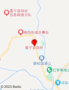 冕宁旅游地图