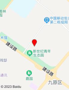 包头旅游地图