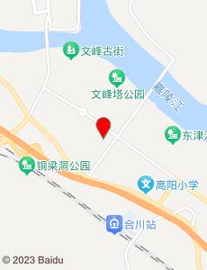 合川旅游地图
