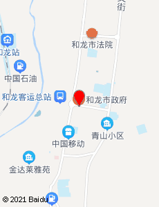 和龙旅游地图