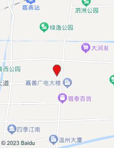 嘉善旅游地图