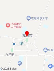 塔城旅游地图