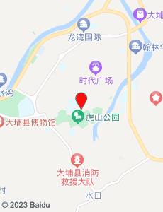 大埔旅游地图