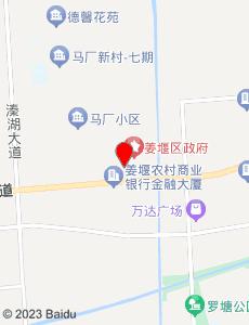 姜堰旅游地图