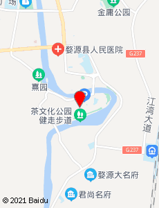 婺源旅游地图