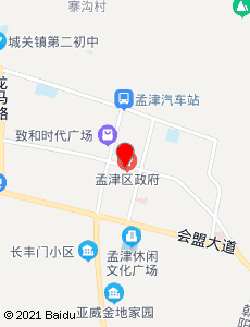 孟津旅游地图