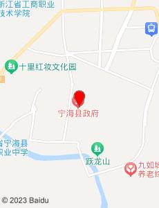 宁海旅游地图