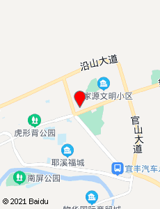 宜丰旅游地图