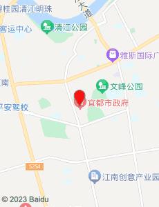 宜都旅游地图