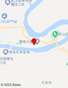 宣汉旅游地图