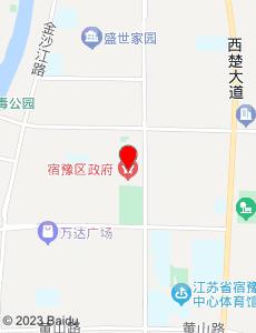 宿豫旅游地图