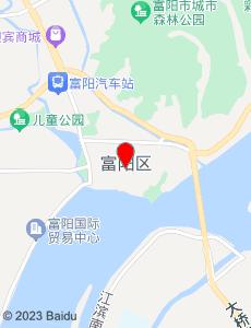 富阳旅游地图