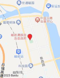 岫岩旅游地图