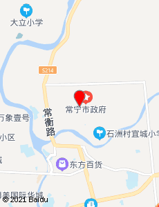 常宁旅游地图