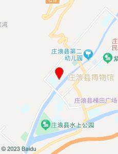 庄浪旅游地图