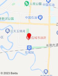 应城旅游地图