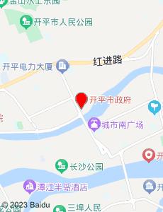 开平旅游地图