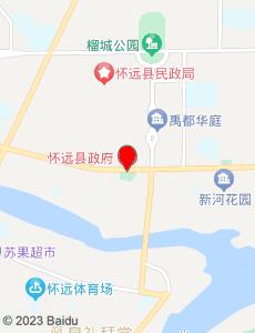 怀远旅游地图