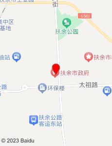 扶余旅游地图