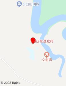 抚松旅游地图