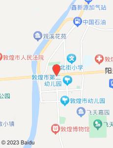 敦煌旅游地图